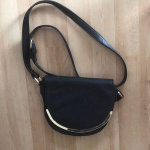 Black saddle bag
